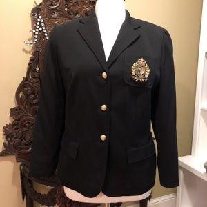 Lauren Ralph Lauren Black Iconic crest Jacket